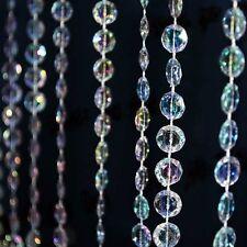 Acryl Kristall Diamanten Girlande - Perlen Kette - Basteln Schmuck Hochzeit Deko