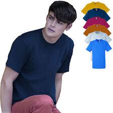 Heavy T-Shirt Cotton Shirt Fruit of the Loom I verschiedene Größen und Farben