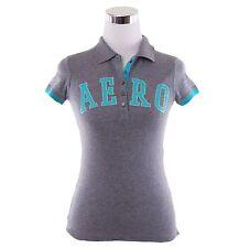 Aeropostale Women Aeropostale Script Jersey Polo Shirt Style 2189 -Free Shipping