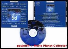 ILS CHANTENT BREL (CD) Gréco,Reggiani,Berliner,Torr1998