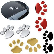Car Sticker 3D Animal Paw Dog Cat Bear Foot Prints Footprint Wall Decoration New