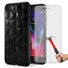 Case Coque Housse + Protecteur écran Verre Trempé Premium iPhone X/8/7/6 S Plus
