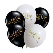 Wild One Balloon Boho Tribal Birthday Party Supplies Decoration Arrow Batman 1st