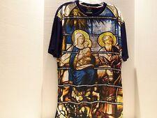 MARY & JOESEPH - JESUS EXTING EGYPT DESIGNER T-SHIRT- MICHAEL CHERRY-VERY RARE