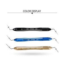 FDA Dental Endo Hand Pluggers Tip screw-type positioning Endodontic Instrument