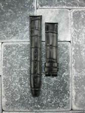 New Grain Leather Strap Black Watch Band Baume & Mercier 20mm 22mm Long Large L