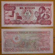 MOZAMBIQUE Banknote 1000 Meticais 1989 UNC