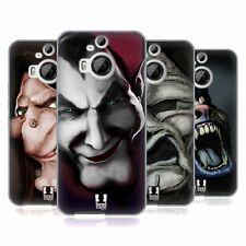 HEAD CASE HORROR CLASSICS GEL SOUPLE CASE Pour HTC Phone 2