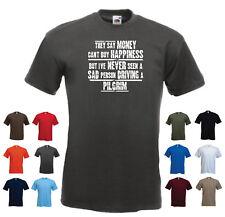 """""""PILGRIM"""" Men's voiture drôle cadeau t-shirt """"ils disent que l'argent ne peut ACHETER LE BONHEUR..."""""""