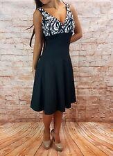 Abendkleid kurz Coctailkleid Abschlussballkleid Minikleid Kleid Gr.38,42 schwarz
