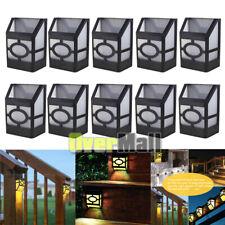5/10x Solar Deck Lights Led Outdoor Garden Decor Wall Mount Fence Post Lighting