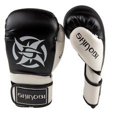 Shinobi Arc Boxing Gloves - Black/White