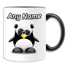 Personalised Gift Panda Mug Money Box Cup Funny Novelty Penguin Cartoon Bamboo
