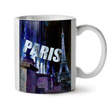 PARIS Eiffel City Fashion Nuova Tazza da Caffè Tè Bianco 11 OZ (ca. 311.84 g) | wellcoda