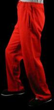 Lin Fin Pantalon Rouge Kung Fu Tai Chi Sarouel Sport Jogging Sur Mesure #115