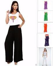 Indian Elastic Waist 100% Rayon Palazzo Woman Hippie Yoga pants Baggy Trousers