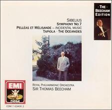 Sibelius: Symphony No. 7; 1990 CD, Thomas Beecham, Royal Philharmonic, West Germ