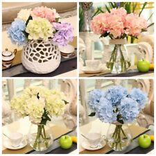 Artificial Fake Ball Fabric Flower Bridal Hydrangea Home Wedding Garden Decor