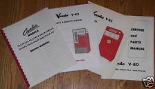 Coca-Cola Vendo Machine Service and Parts Manual, V-23 Model