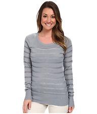 Womens Nike Golf Crewneck Sweater Light Grey 653537 088 Various Sizes XS S M L