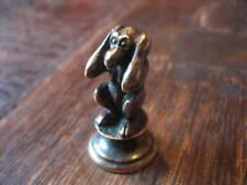 Bronze Miniatur Petschaft Affe nichts hören (3 Affen)