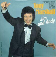 """TONY MARSHALL - JIM UND ANDY 7"""" 1982 SINGLE (S7972)"""