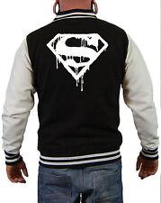 Superman´s Death Jacke Comic Batman Krypton Superman Jocker Fashion Style Fun