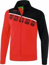 Erima Sports Training Casual Kids Boys Full Zip Jacket Long Sleeve Tracksuit Top