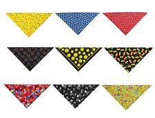 "22"" Square Dog Bandanas 9 Dog Pattern Theme Designs To Choose Colorful Flair"