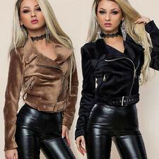 By alina señora chaqueta Nikki capuccino + negro de transición chaqueta 34-38 #b515