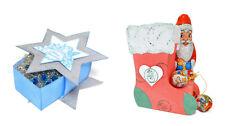 Verpackungs-SCHABLONE für BOXEN + SCHACHTELN von VIVA DECOR Weihnachten
