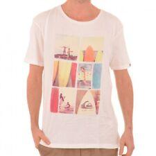 Quiksilver SS Nomad Organic té t-shirt camisa Vintage White blanco eqyzt 00063