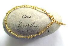 ✫ DAWN ✫ GOLDEN BEADED ANKLE CHAIN BRACELET ANKLET All sizes