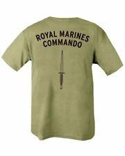 Royal Marines Commando Double Print Military Army T Shirt