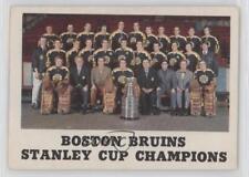1970-71 O-Pee-Chee Boston Bruins Team #232