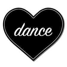 Love Dance Vinyl Sticker - SELECT SIZE