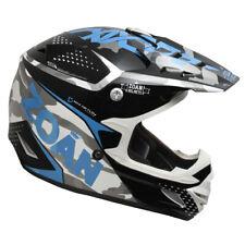 Zoan Youth MX-2 Sniper Blue Black DOT Offroad Motocross Motorcycle Riding Helmet