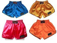 Boon Sport Boxing Retro Shorts Blue Pink S M L Xl Xxl Muay Thai Free Shipping