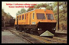 LMH Postcard  AMTRAK MOW TRACK GEOMETRY CAR Maintenance TC8401 Plasser American