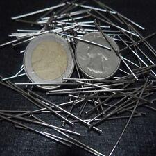 Pick Stainless steel flat Head Pin Earring Craft Jewelry Making Pendants Pins