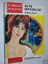 IL GIALLO MONDADORI-N. 754-ELLERY QUEEN-ALTA INFEDELTA'-14 LUGLIO 1963