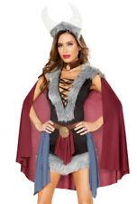Roma fury Viking Maiden caped dress costume set