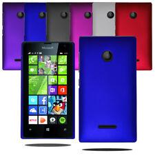 For Microsoft Lumia 435 Slim Hybrid Hard Case Clip On Back Cover & Screen Film