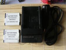 2X DMW-BCM13E Battery / Charger for PANASONIC LUMIX DMC-ZS30 DMC-TS5 DMW-BCM13PP