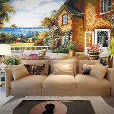 3D Mare, casa 377 Parete Murale Foto Carta da parati immagine sfondo muro stampa