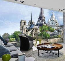 Notre Dame de Paris Full Wall Mural Photo Wallpaper Print Kids Home 3D Decal