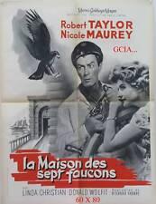 MAISON des 7 FAUCONS - R.TAYLOR - R.THORPE- 1959 - MGM