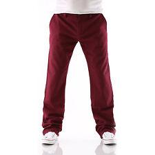Big Seven XXL EVAN Chino rot regular fit Herren Jeans Hose Übergröße neu