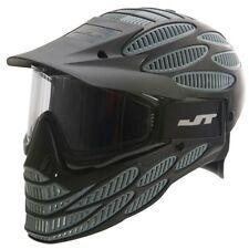 *NEW* JT Flex 8 Full Head Paintball / Airsoft Mask - Black/Grey