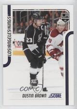 2011-12 Score Glossy #221 Dustin Brown Los Angeles Kings Hockey Card
